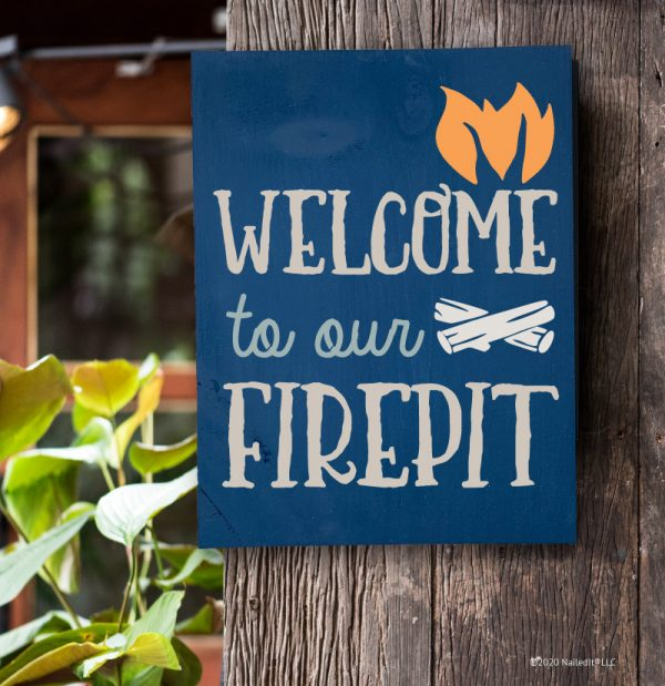4041 Welcome to our Firepit