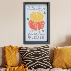 4047 Autumn Leaves Pumpkins Please